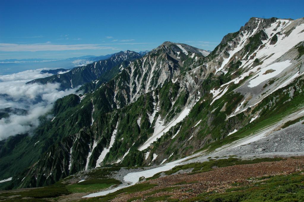 【白馬岳】2010年07月18日 07:53撮影