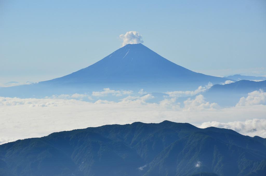 【北岳】2011年07月10日 07:23撮影