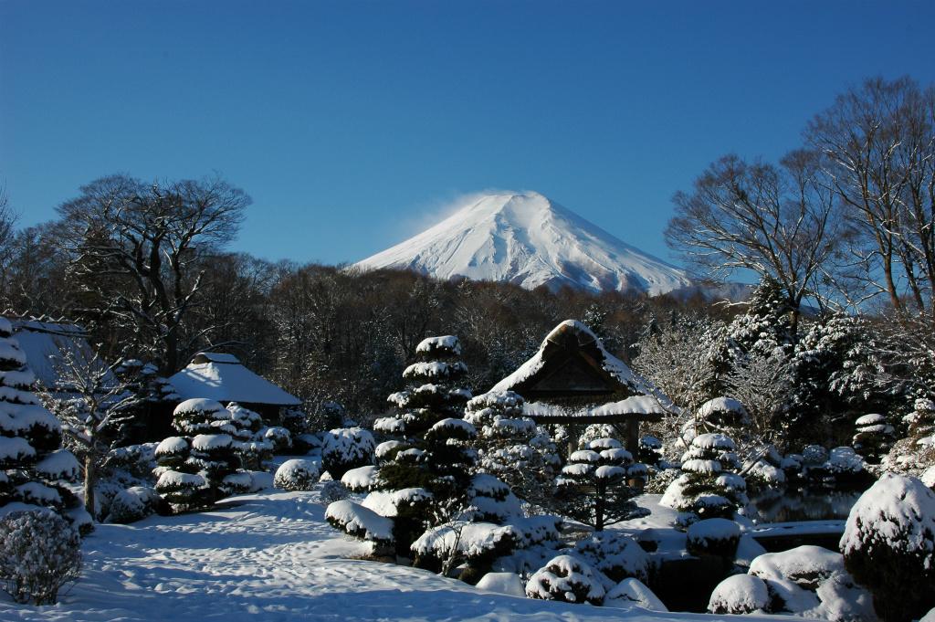 【忍野八海】2006年01月22日 08:23撮影