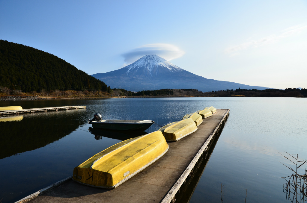 【田貫湖】2010年12月26日 09:23撮影