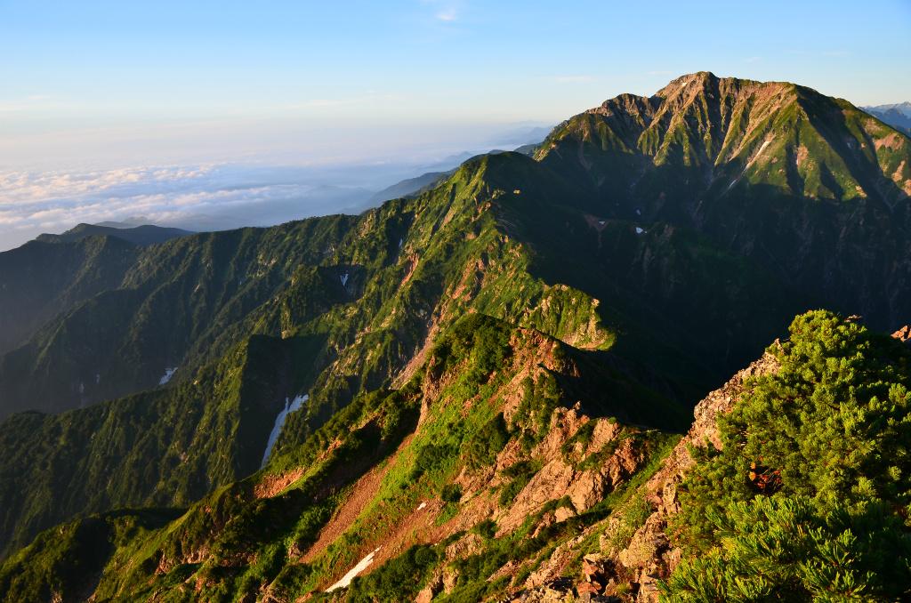 【唐松岳】2011年08月14日 05:24撮影