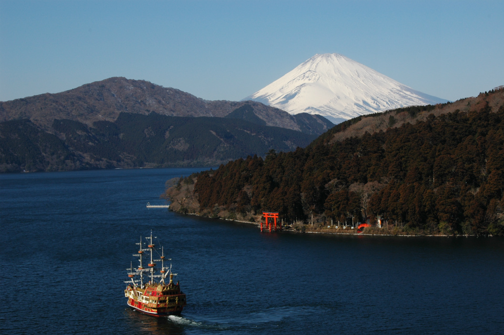 【芦ノ湖】2006年01月28日 11:35撮影