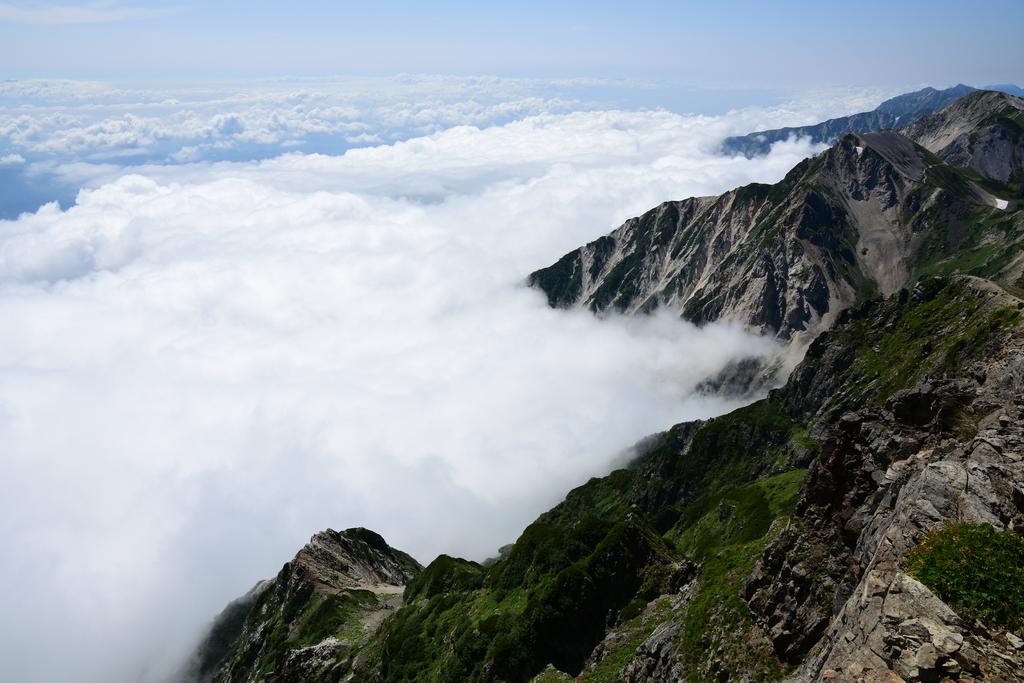 【白馬岳】2016年08月12日 09:59撮影