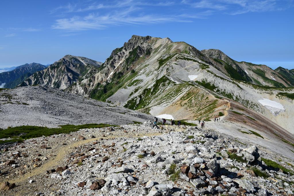 【白馬岳】2016年08月12日 08:16撮影