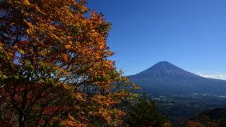 38d86b62fcccfe1b1c153b345b20c567 320x180 - 鮮やかな紅葉と雪化粧の富士山のコラボレーション