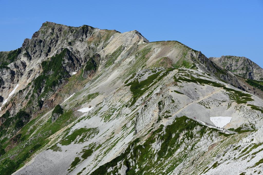 【白馬岳】2016年08月12日 08:11撮影
