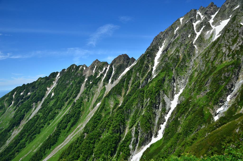 【前穂高岳】2013年07月20日 11:15撮影
