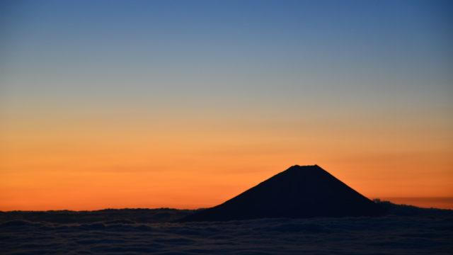 【鳳凰山】2012年01月08日 06:28撮影